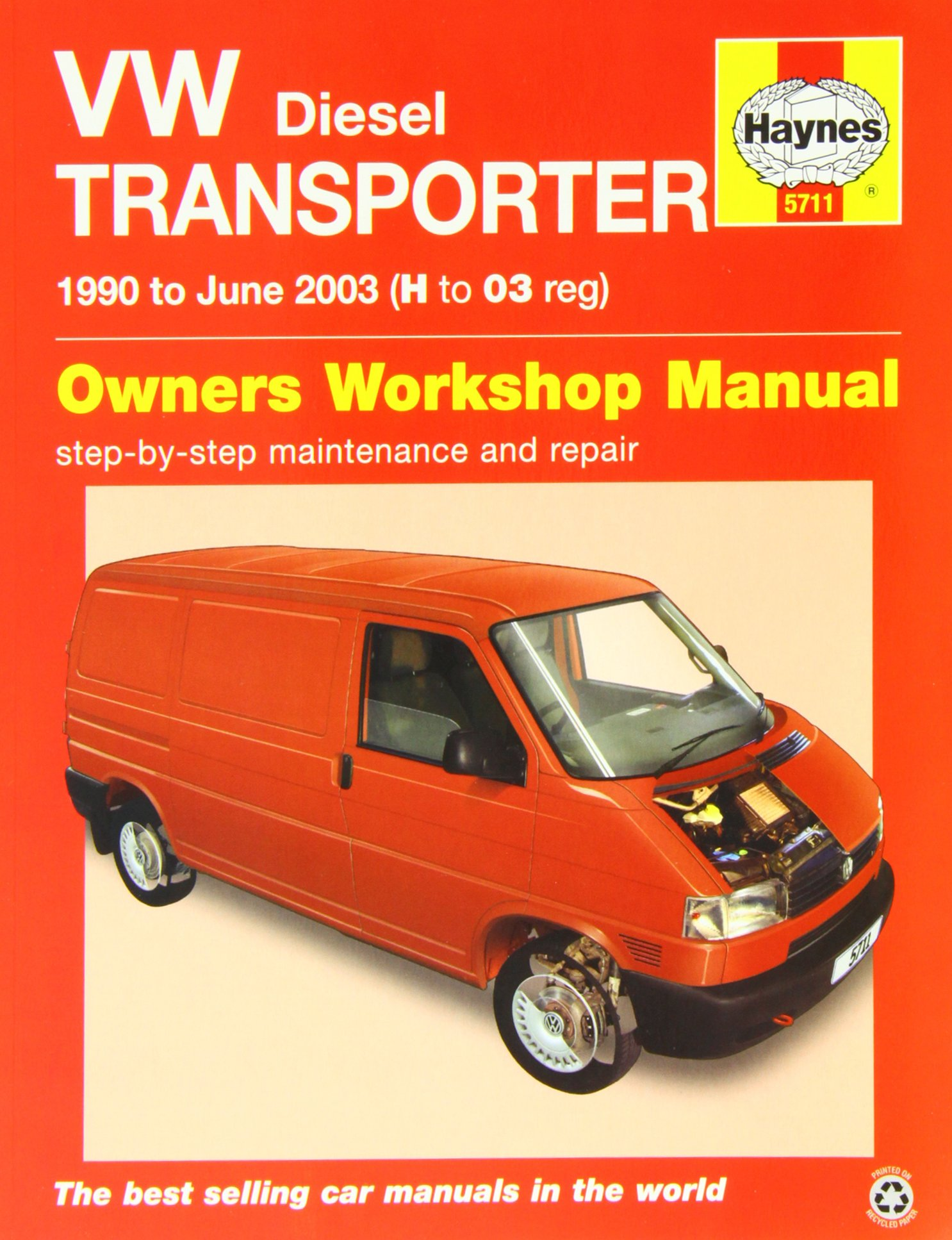 VW T4 Transporter Diesel (90 - June 03) Haynes Repair Manual: Amazon.co.uk:  Anon: 9780857337115: Books