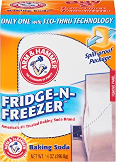 product image for Arm & Hammer Baking Soda Fridge-n-Freezer Odor Absorber, 14 oz, Pack of 12