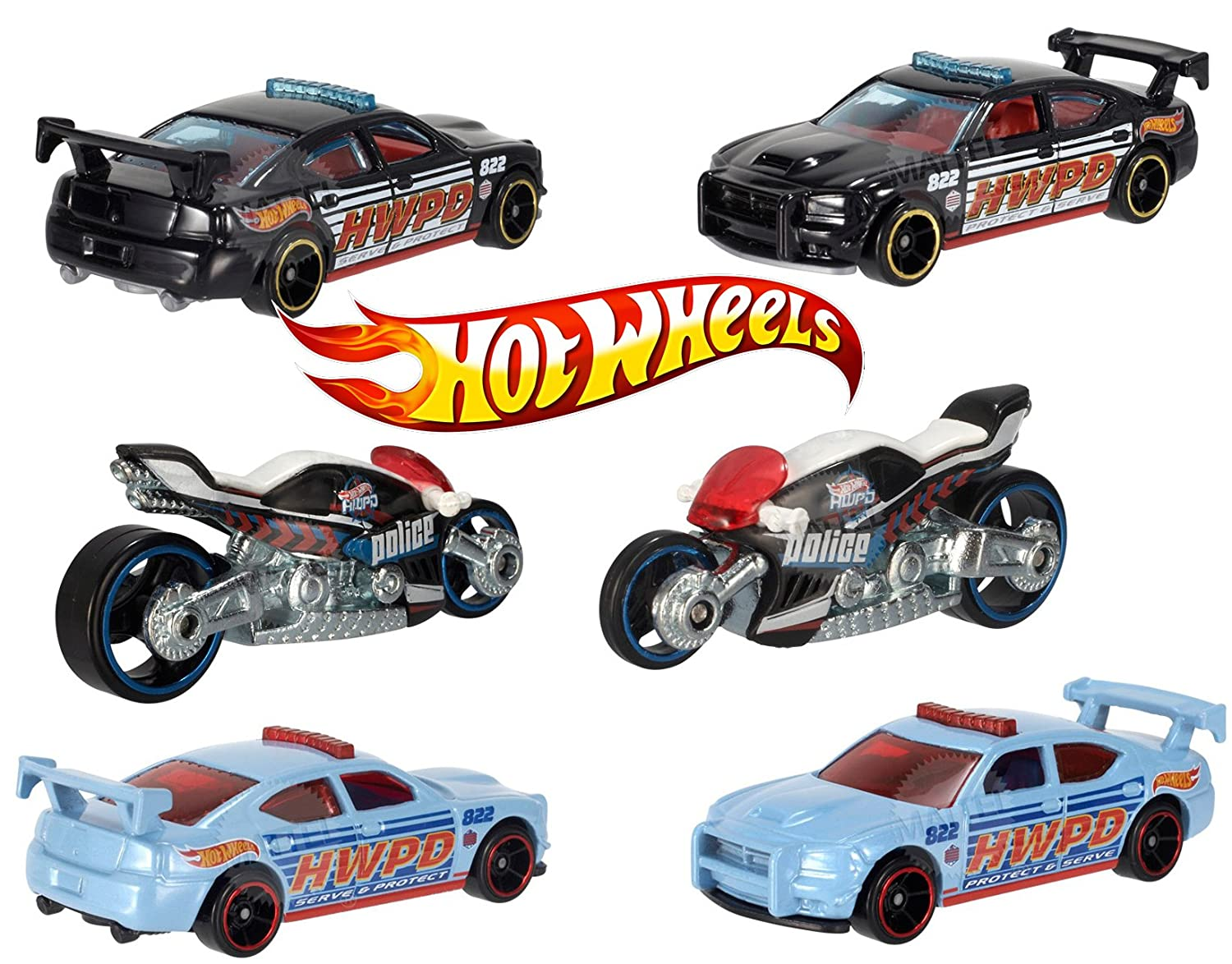 Hw hot wheels 2015 hw city 48 250 canyon carver police motorcycle - Amazon Com Dodge Charger Drift Canyon Carver Motorcycle Hot Wheels Rescue Highway Patrol Police Vehicles 48 Toys Games