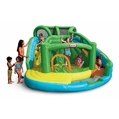 Little Tikes 2-in-1 Wet 'n Dry Inflatable Bouncer: Toys & Games