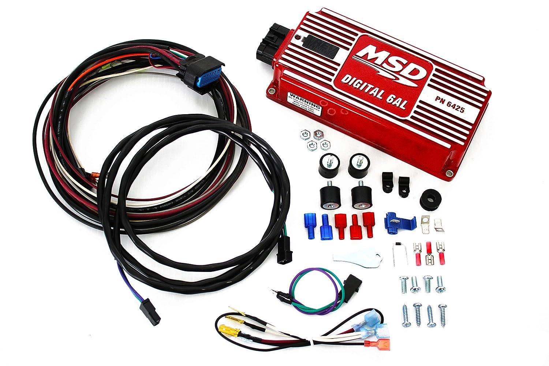 Sbc Bbc Msd Ignition Digital 6al Box W Pro Billet Chevy Distributor With Wiring Blaster Ii Coil Automotive