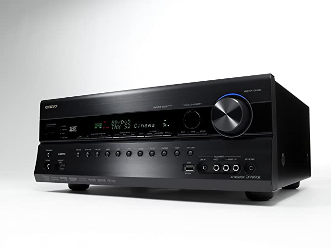 Onkyo TX-NR708 7 2-Channel Network Home Theater Receiver (Black)  (Discontinued by Manufacturer)