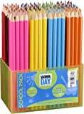 Jpc Créations Schoolpack 363372 Paquet de 144 crayons Assorties
