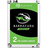 Seagate 2.5-Inch 2 TB BarraCuda Internal Hard Drive - Silver