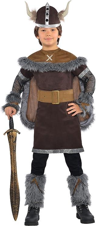 Amscan International - Disfraz Viking Warrior para niños, 4-6 años ...