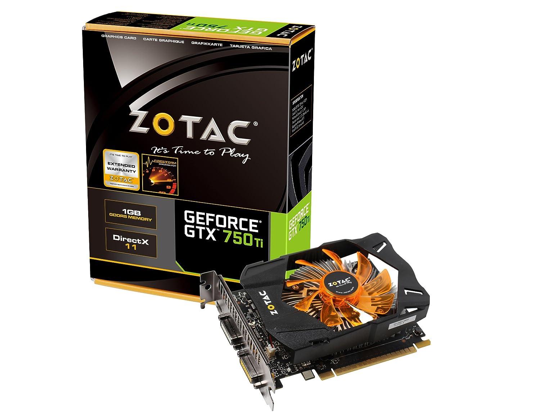 Zotac ZT-70603-10M GeForce GTX 750 Ti 1GB GDDR5 - Tarjeta ...