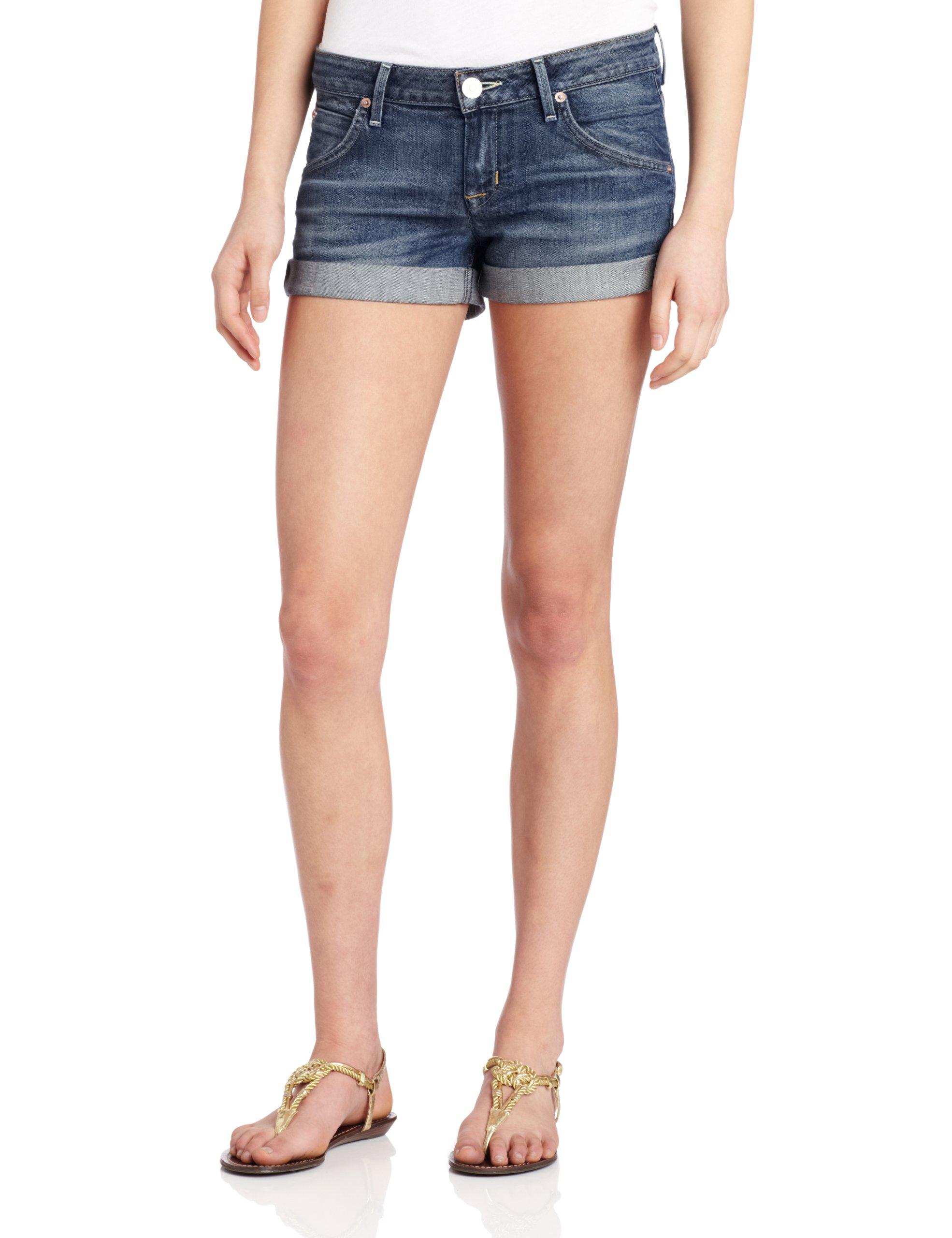 Hudson Jeans Women's Hampton Cuffed Flap Pocket Short, Hackney, 28