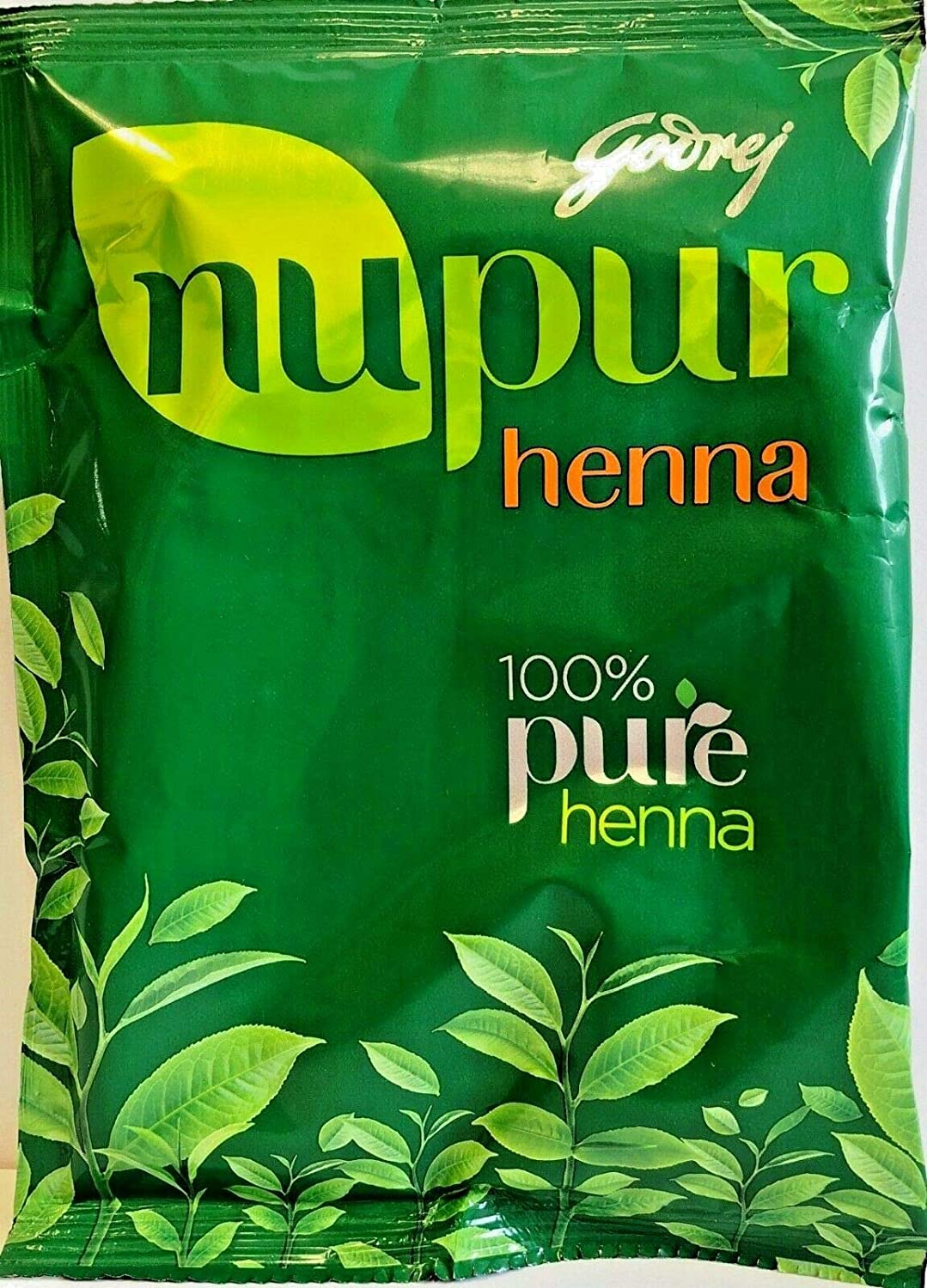 Nupur Henna MehendiPure for Silky & Shiny Hair 400g X Pack of 2