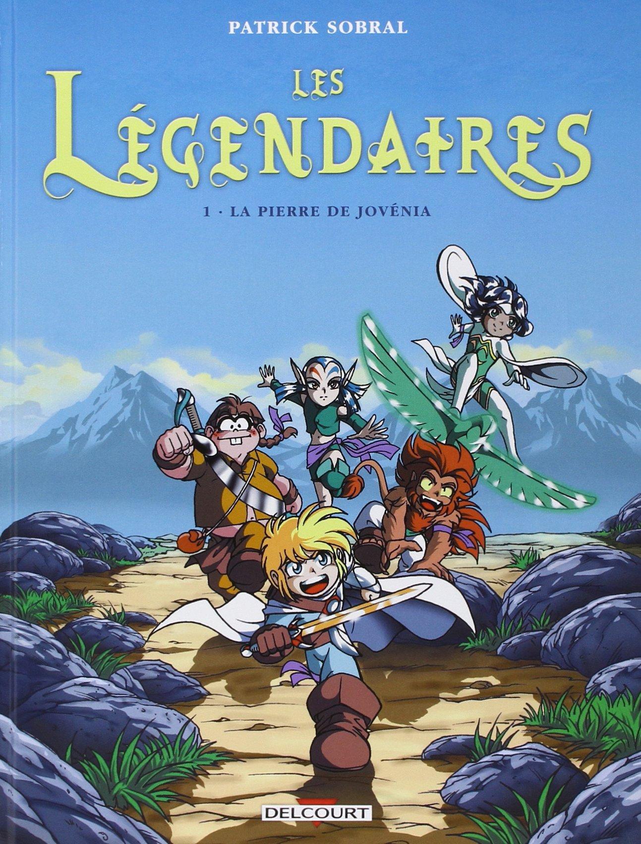 Les Légendaires, tome 1 : La Pierre de Jovenia (Divers)