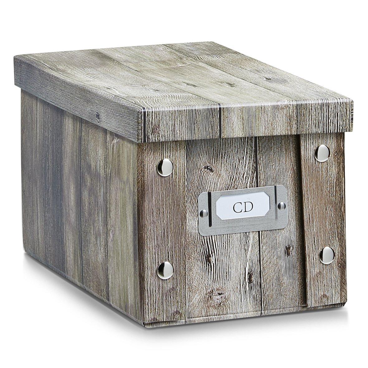 Caja de cartón vintage marronhttps://amzn.to/2Dg24Pv