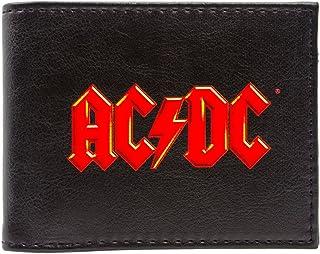 AC/DC Music Rock Band Red Logo Nero portafoglio 28808
