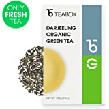 Teabox - Organic Darjeeling Green Tea 3.5oz/100g (40 Cups)