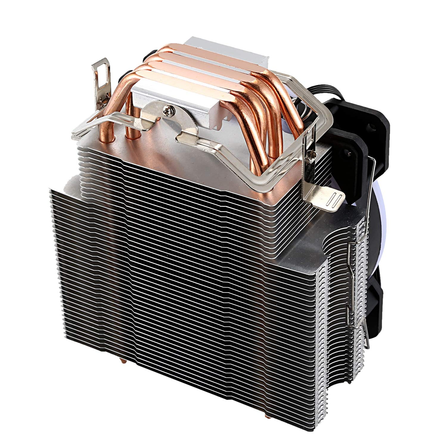 YOUKITTY LED CPU Cooler Master 5 Direct Contact Heatpipes Freeze Tower Cooling System CPU Cooling Fan with PWM Fans