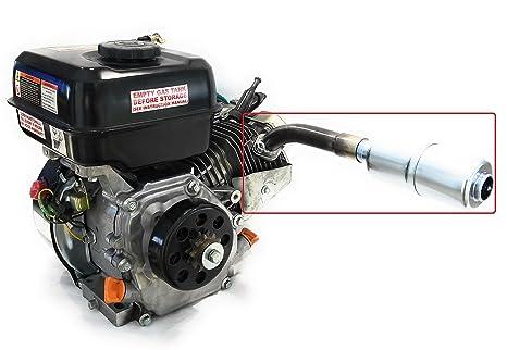 Amazon com: Exhaust With Muffler for: Mud Motor  Honda GX160, GX200