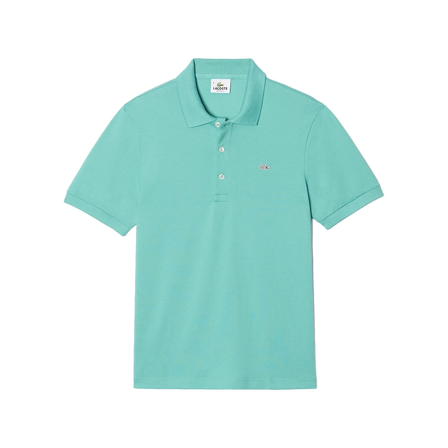 Lacoste Homme Polo Col Small Mao Turquoise Y7vgbf6y