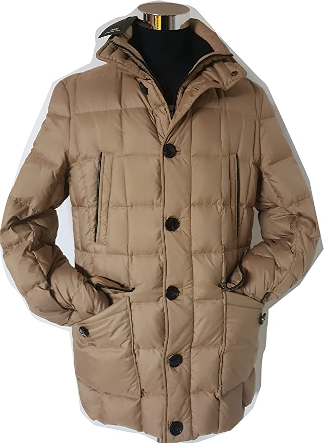 Mabrun Men's Coat Beige 40: Amazon