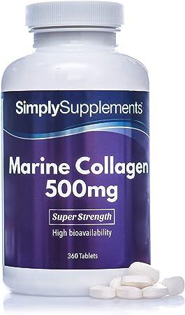 Colágeno 500 mg - ¡Bote para 4 meses! - 360 Comprimidos ...