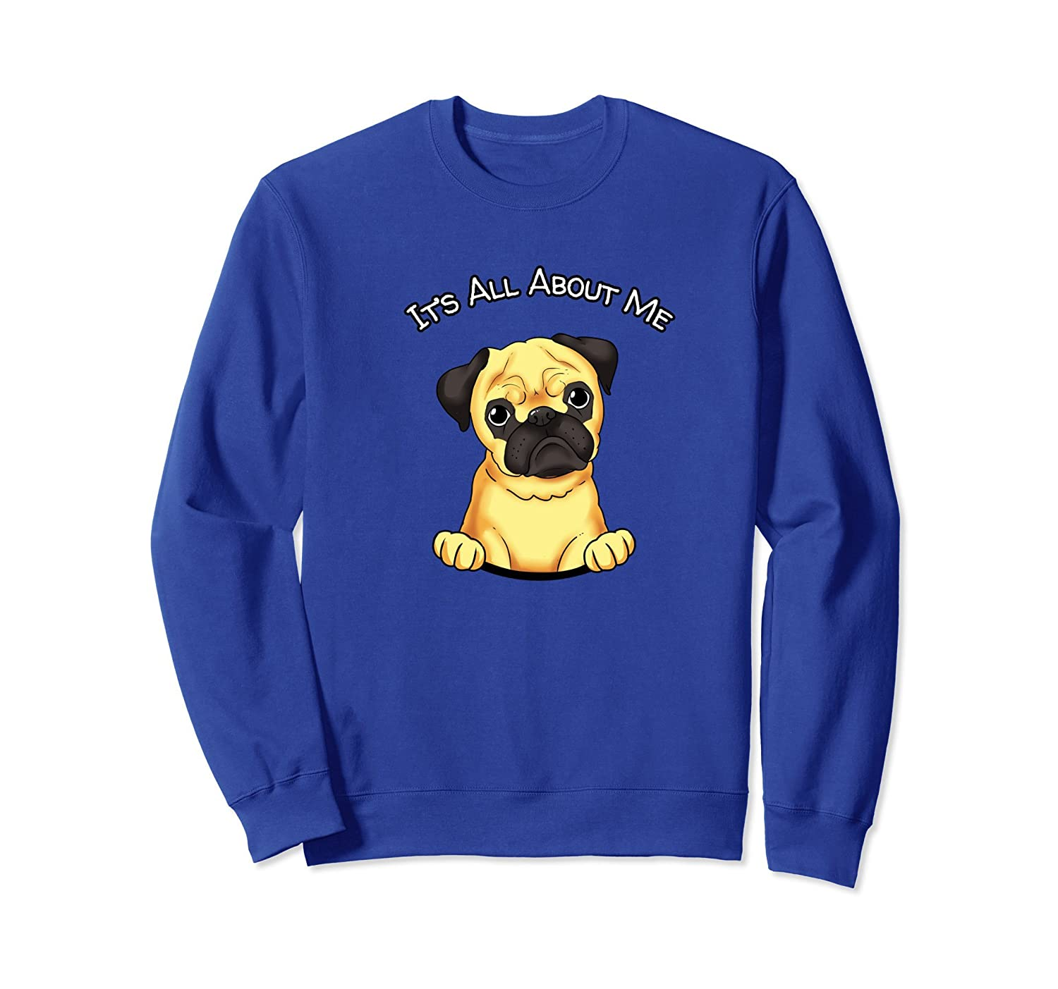 Awesome Pug Sweatshirt Dog Lover Pugs Sweater-TH