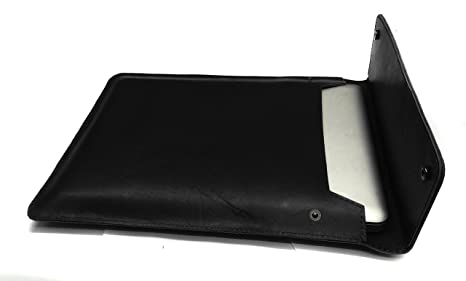 Chalk Factory Genuine Leather Sleeve/ Slipcase for Dell XPS13 13 inch Laptop #OR  BLACK  Bags   Sleeves