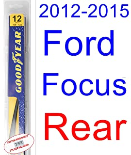 2012-2015 Ford Focus Wiper Blade (Rear) (Goodyear Wiper Blades-Hybrid
