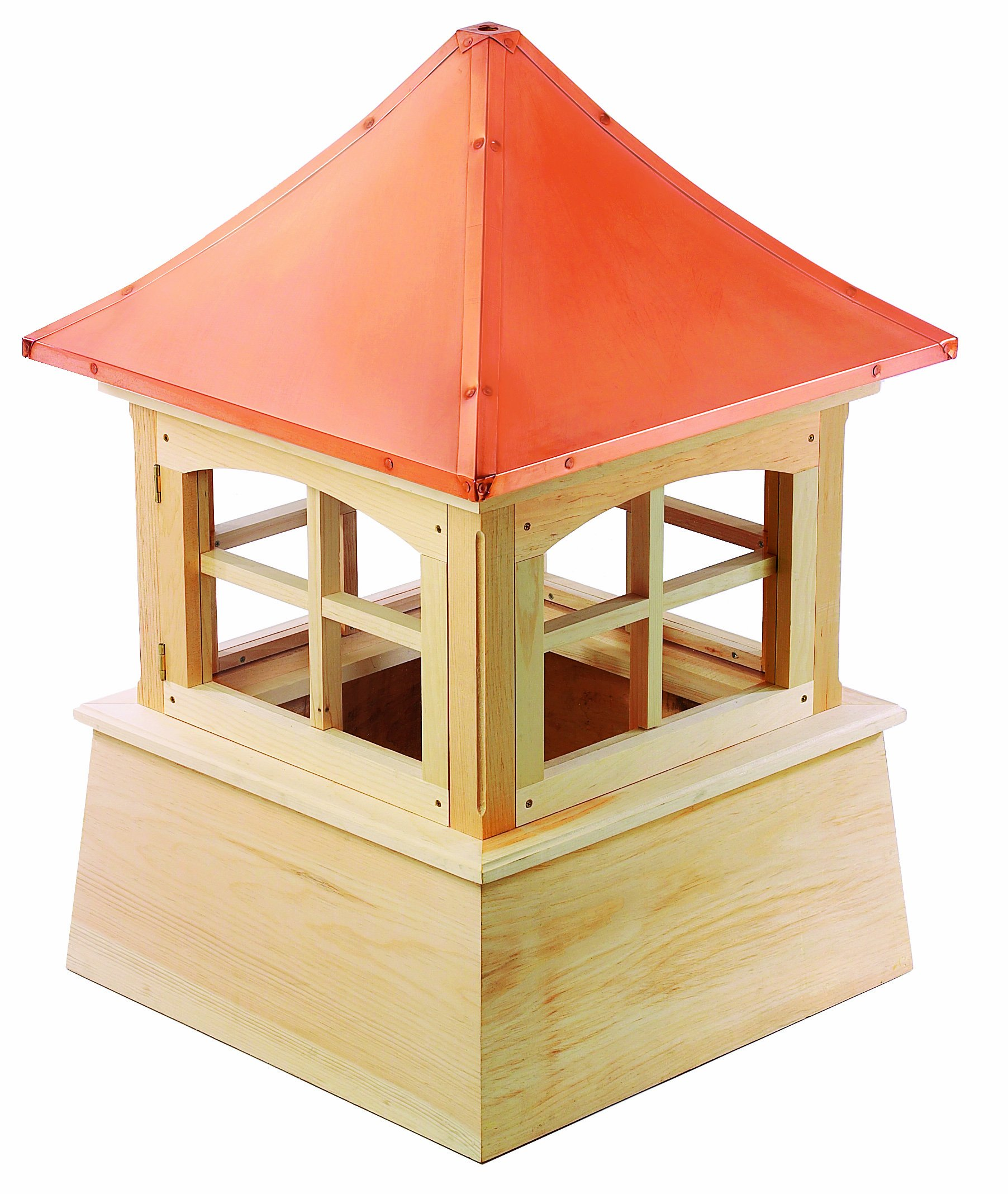 Good Directions Windsor Wood Cupola with Copper Roof, 42'' x 61'' by Good Directions
