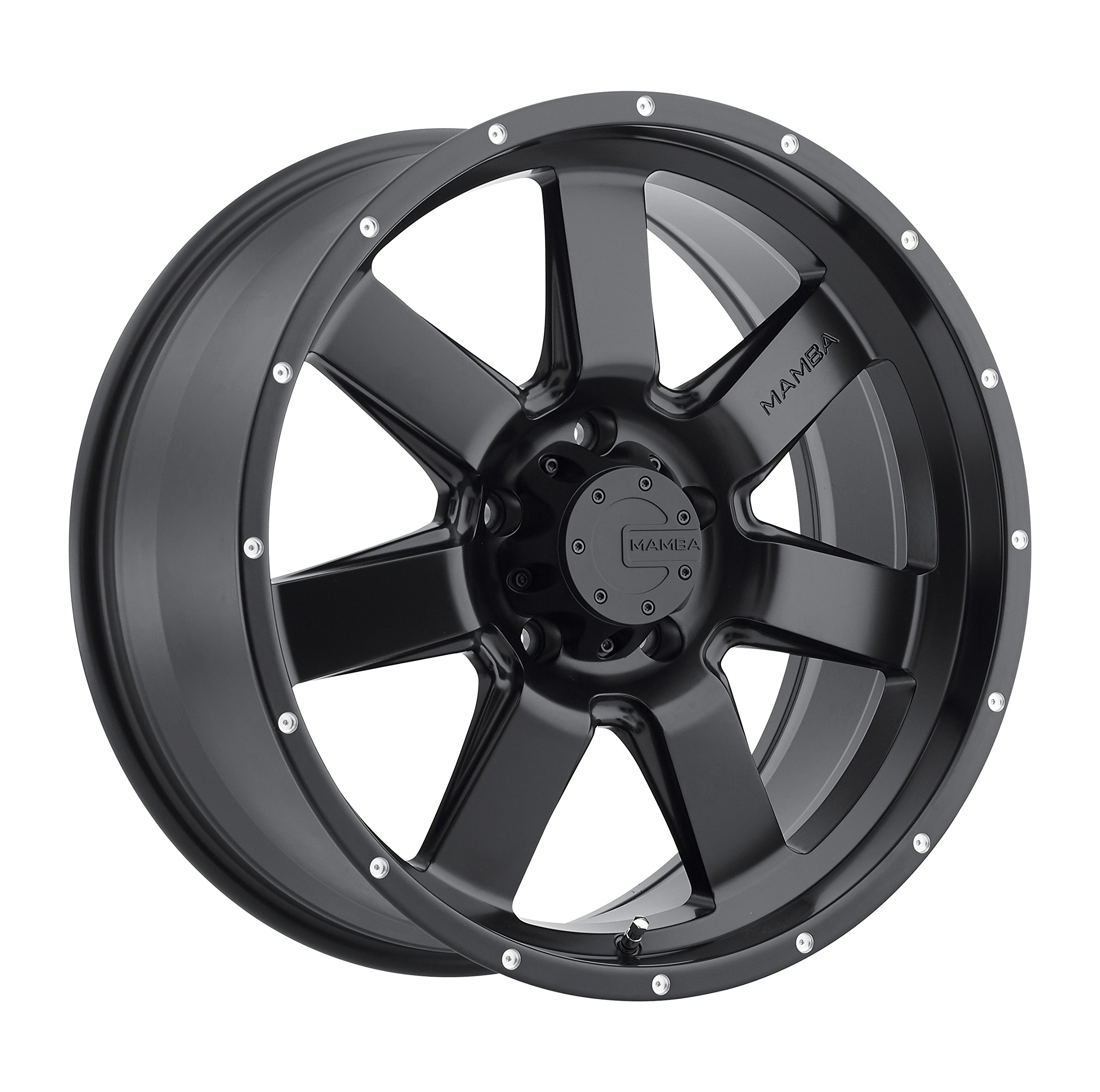 Mamba-M14-Matte-Black-Wheel-17x95x127mm-12mm-offset
