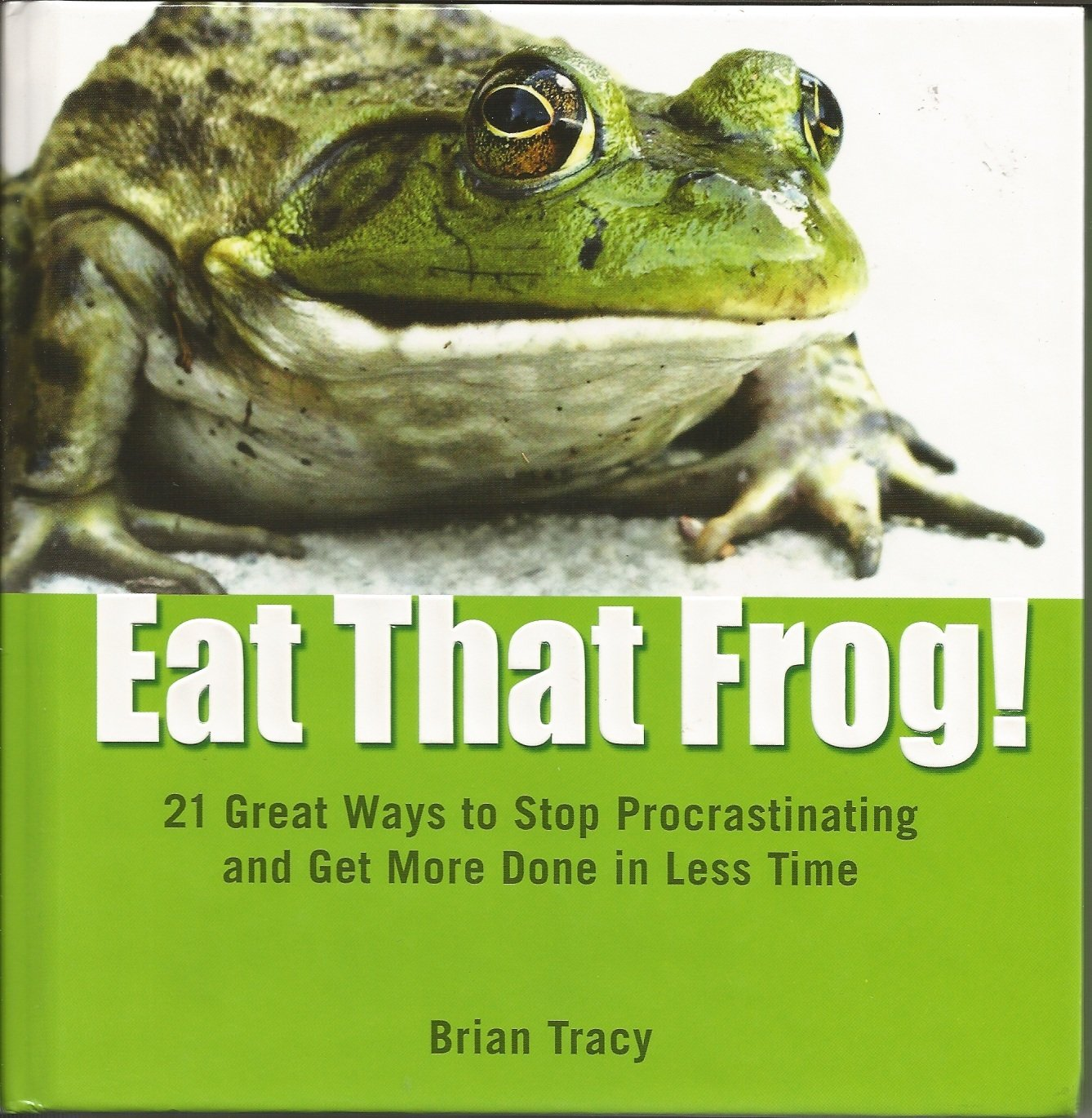 Download Eat That Frog!: 21 Great Ways to Stop Procrastinating and Get More Done in Less Time pdf