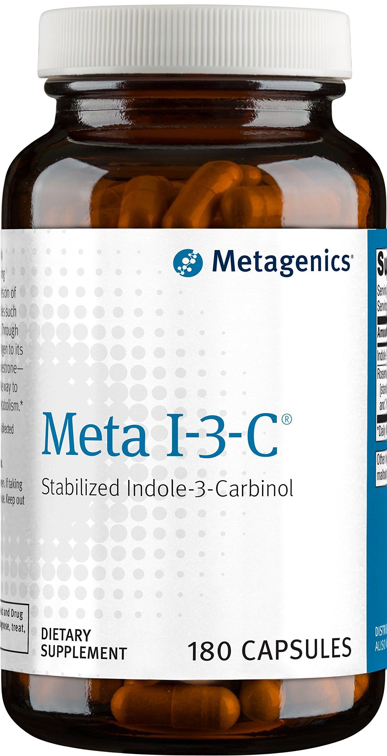 Metagenics Meta I-3-C Supplement, 180 Count