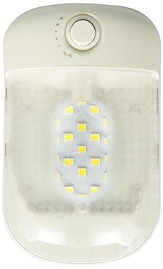 Green LongLife 9090101 LED Dome Light Fixture Single 921 Wedge 230 Lumens  12v Or 24v Natural