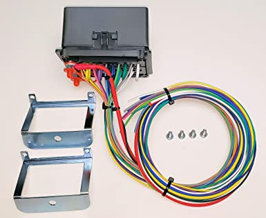 amazon.com: concours specialties universal waterproof fuse relay box panel  cooper bussmann atv utv rv boat 4x4: industrial & scientific  amazon.com