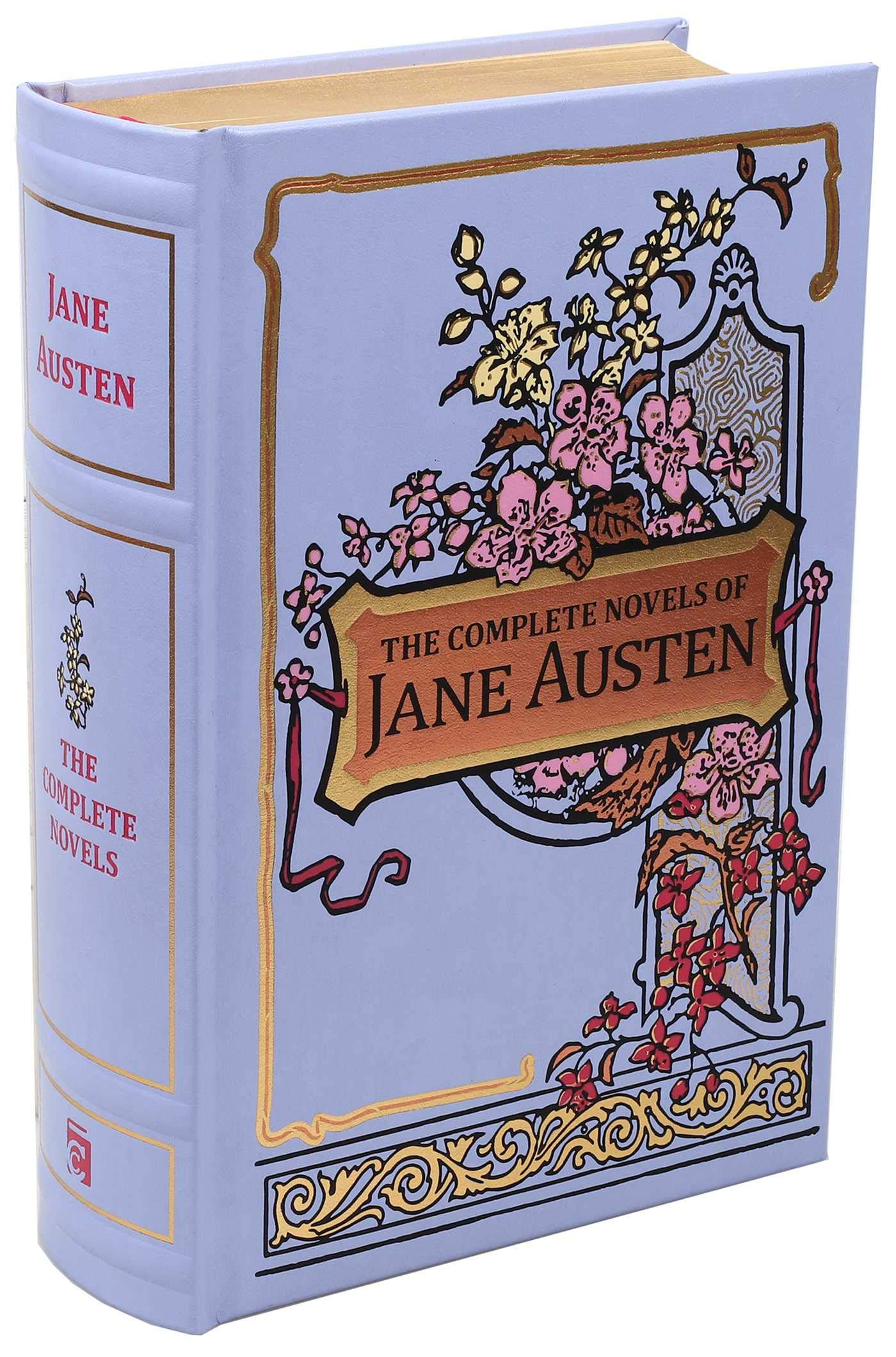 The Complete Novels of Jane Austen (Leather-bound Classics)