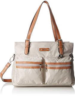 71a001cc3a1cb Picard Damen Tasche Leder Shopper Schultertasche Cherokee Leinen ...