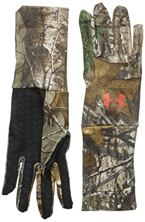 8b2114f3b9 Under Armour Men's ColdGear Camo Liner Gloves