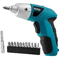 Parafusadeira Philco PPF01 W 4.8V Preto/Azul
