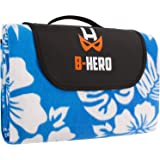 Extra Large Picnic & Outdoor Blanket , Fleece Mat With Waterproof Backing Perfect For Picnics And Beaches