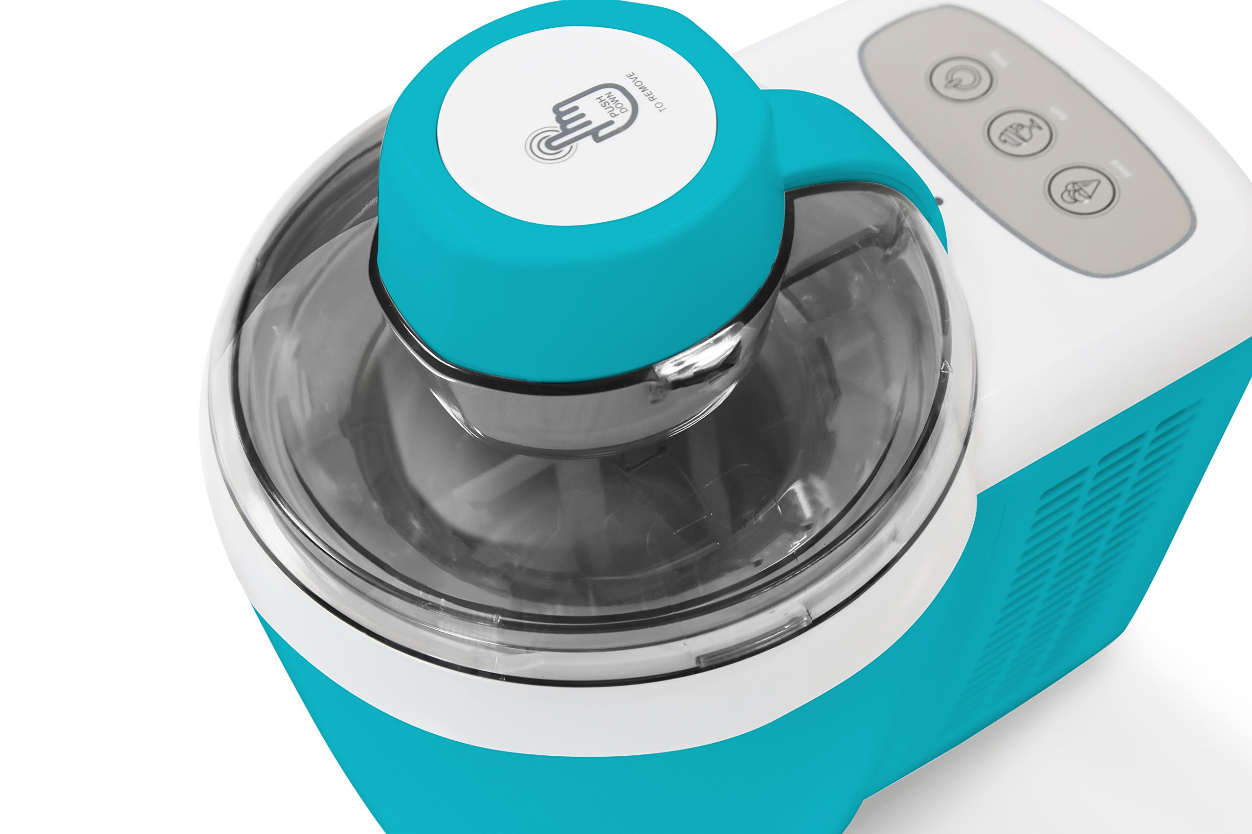 Mr. Freeze EIM-700T Self-Freezing Self-Refrigerating Ice Cream Maker, 1.5 Pint, Turquoise by Maxi-Matic (Image #6)