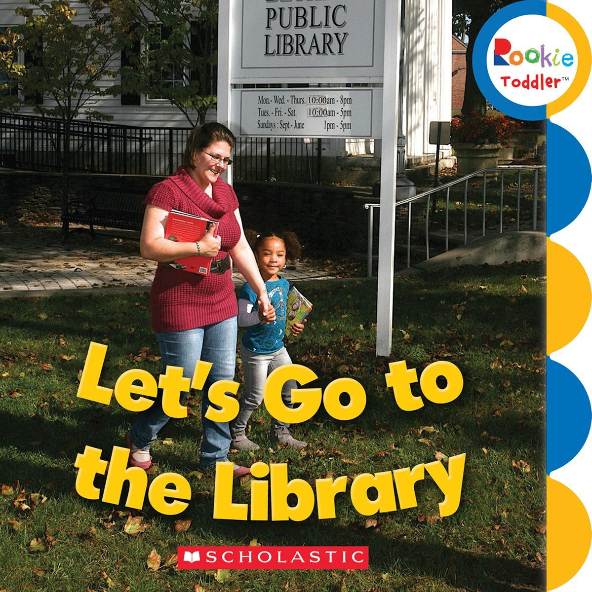 Download Let's Go to the Library (Rookie Toddler) pdf