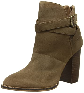 Amazon.com | Chinese Laundry Women's Zip It Suede Ankle Boot ...