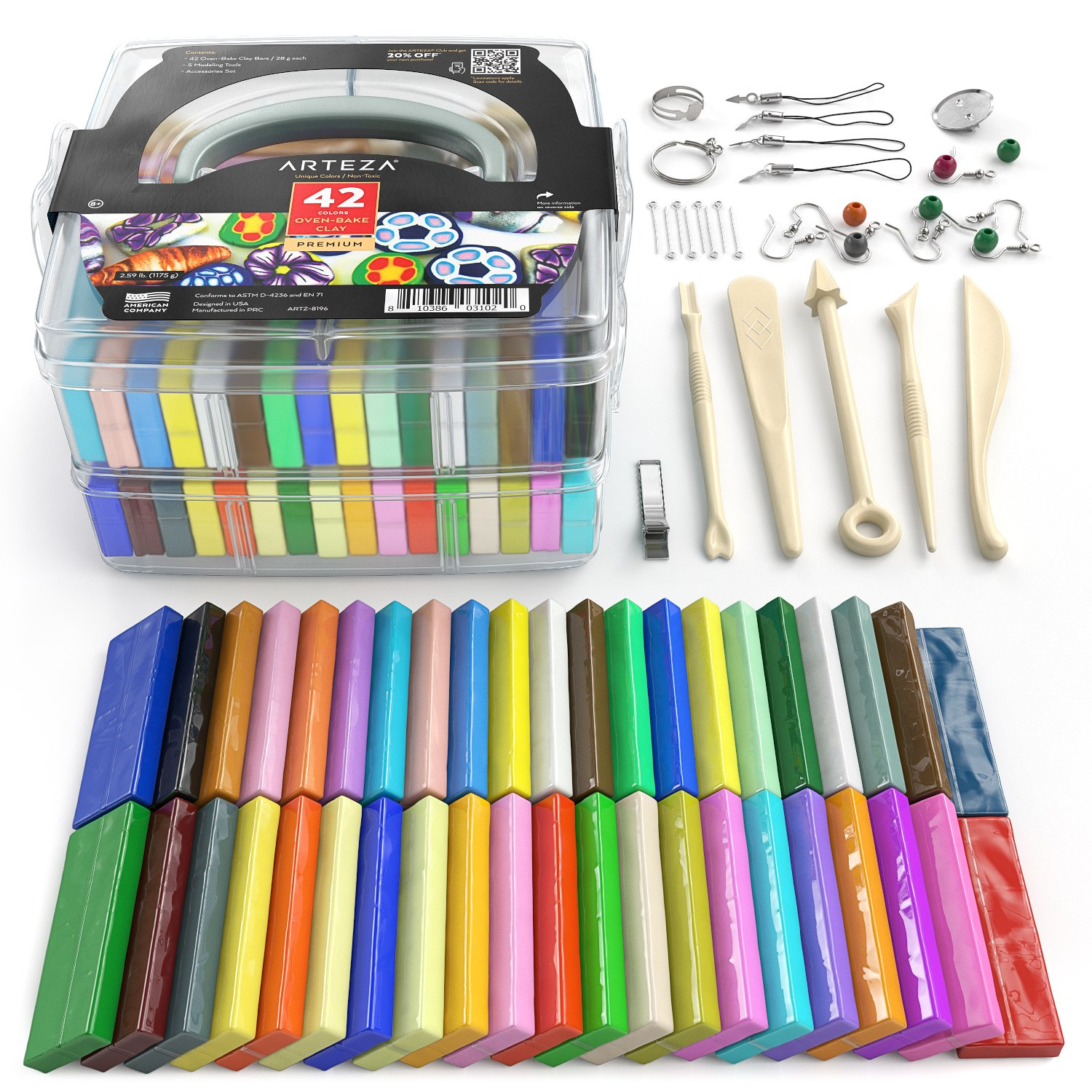 Polymer Clay Starter Kit Only.