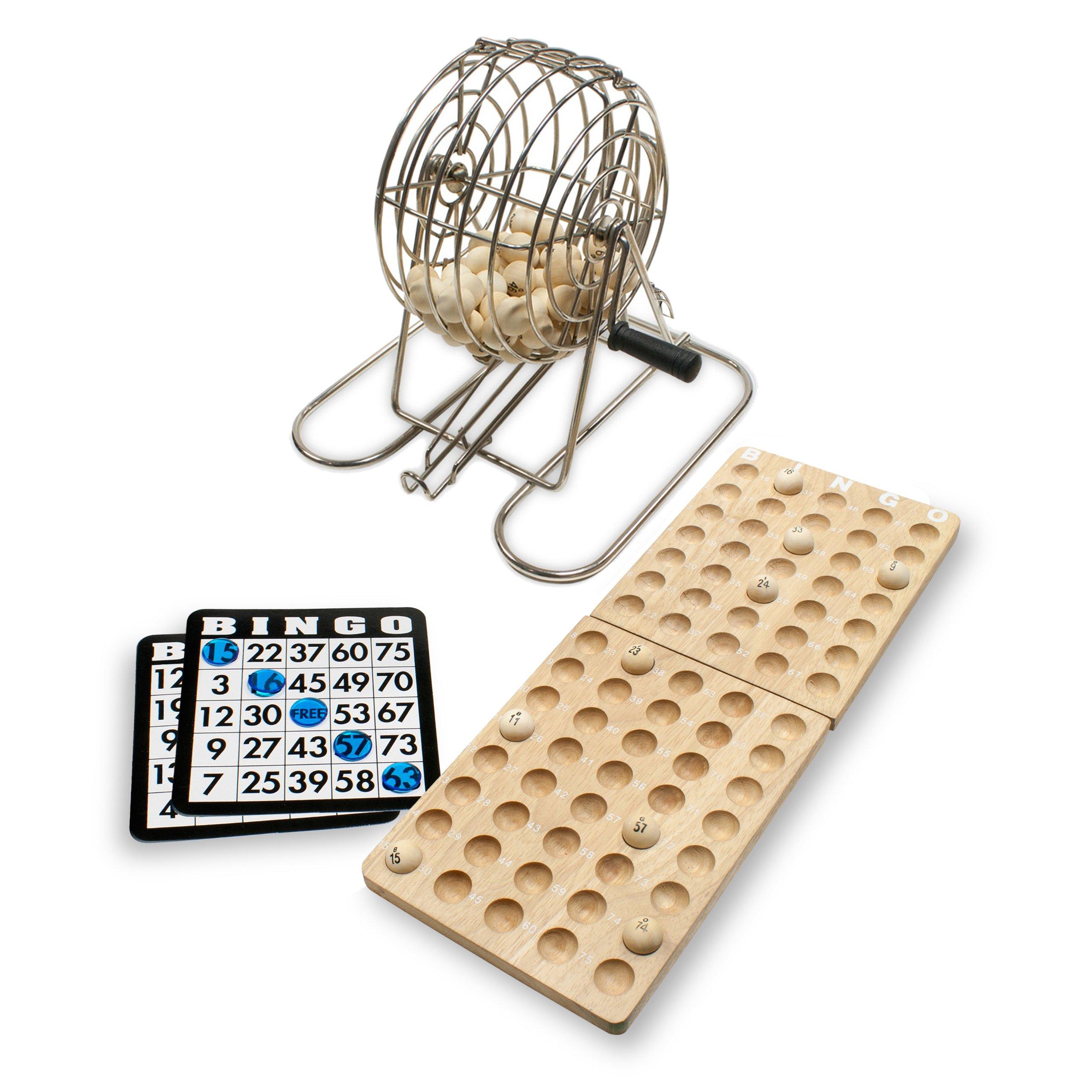 WE Games Old-Time Bingo Set