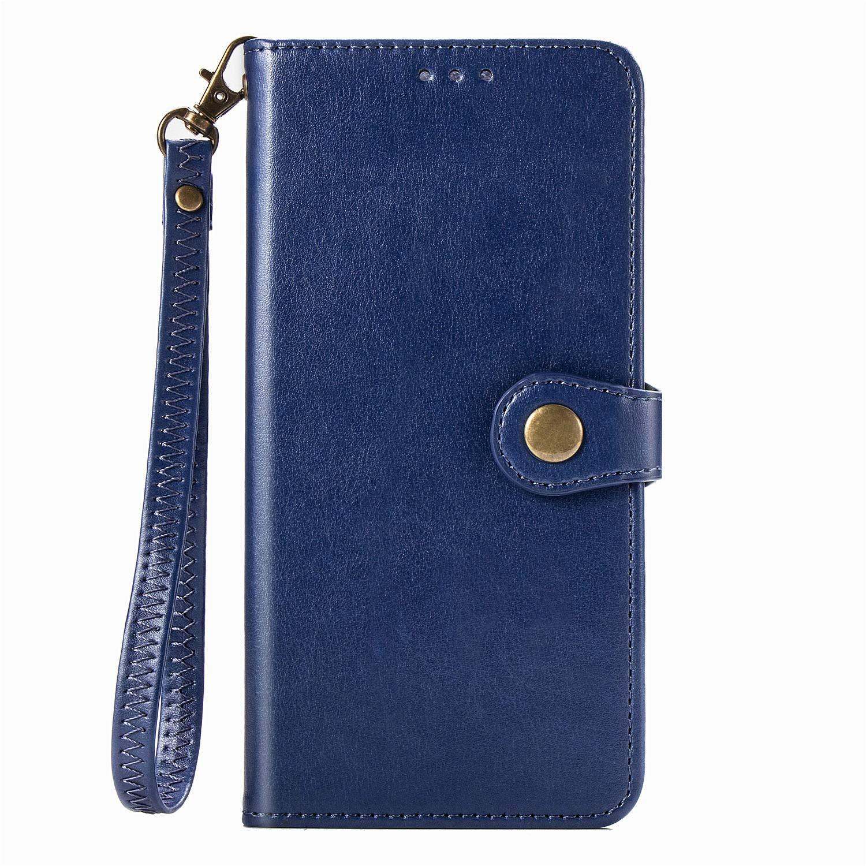 Tosim Galaxy J6 2018 H/ülle Klappbar Leder Brieftasche Handyh/ülle Klapph/ülle mit Kartenhalter Stossfest Lederh/ülle f/ür Samsung Galaxy J6//J600F TOSDA010129 Rot
