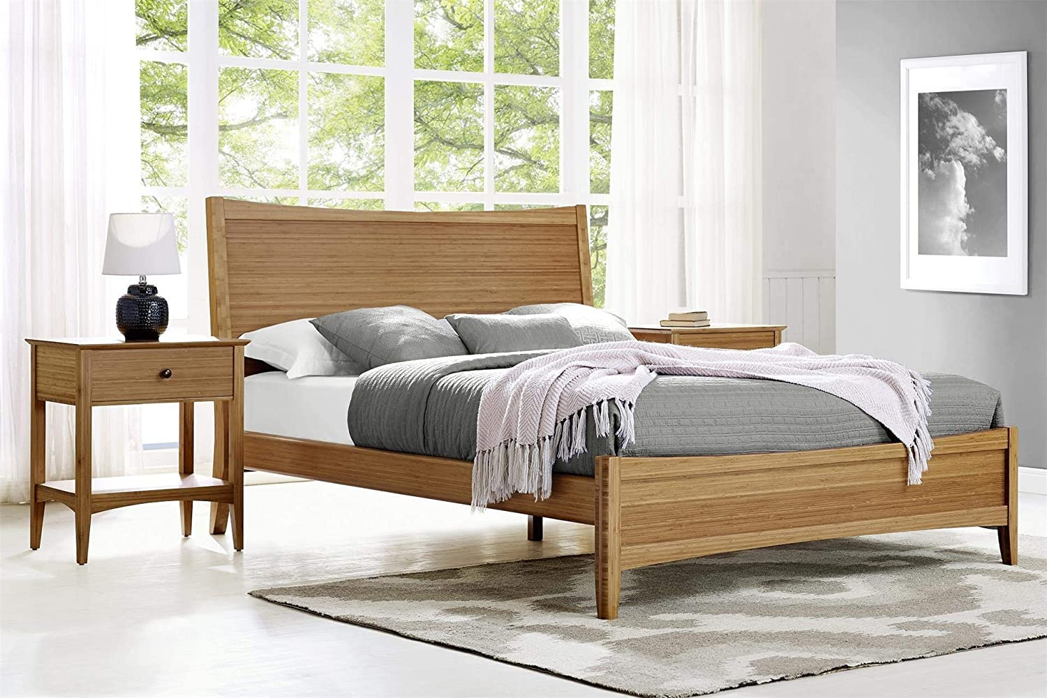 Amazon.com - Greenington Willow 3-Piece Bamboo Bedroom Set - Modern ...
