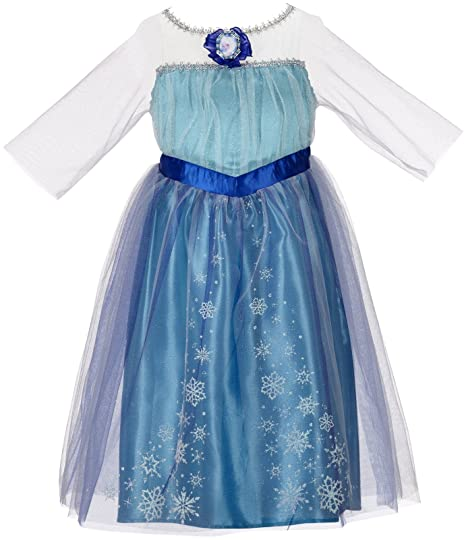 22e83f899 Amazon.com  Disney Frozen Enchanting Dress - Elsa