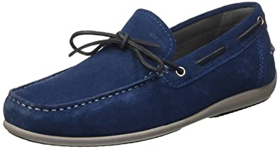 50e915ed9b1db Geox Men s U Ascanio A Mocassins blue Size  7  Amazon.co.uk  Shoes ...