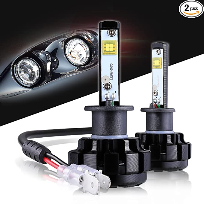 Review LED Headlight Bulbs H1