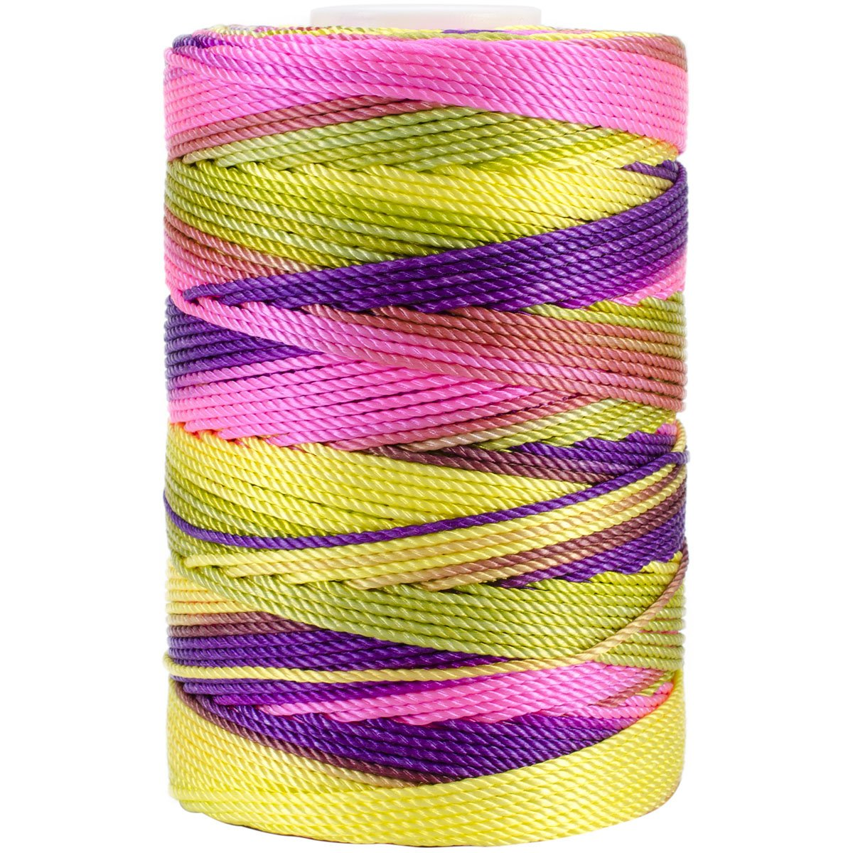 Iris 18-487 Nylon Crochet Thread, 197-Yard, Bright Pastel Mix