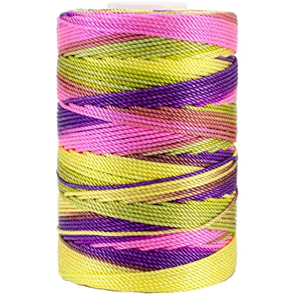197-Yard Fiesta Mix Iris 18-474 Nylon Crochet Thread