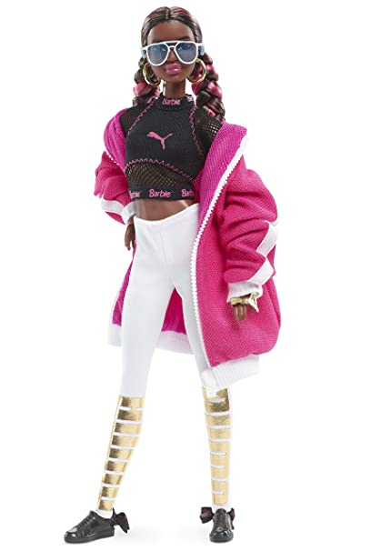 Image Unavailable. Image not available for. Color  Barbie Puma Doll ... a93dce7d7