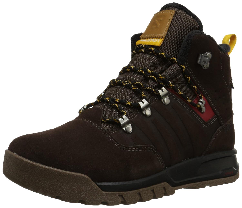 SalomonUtility Pro TS CSWP - Zapatillas de Trekking y Senderismo de Media caña Hombre 41 1/3 EU|Marrón (Trophy Brown Ltr / Absolute Brown-x / S)
