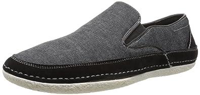 Stacy Adams Men's Newport Slip-On Loafer, Black Denim, ...